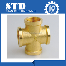 Wholesale Female cross connection/Brass Fitting/water heating