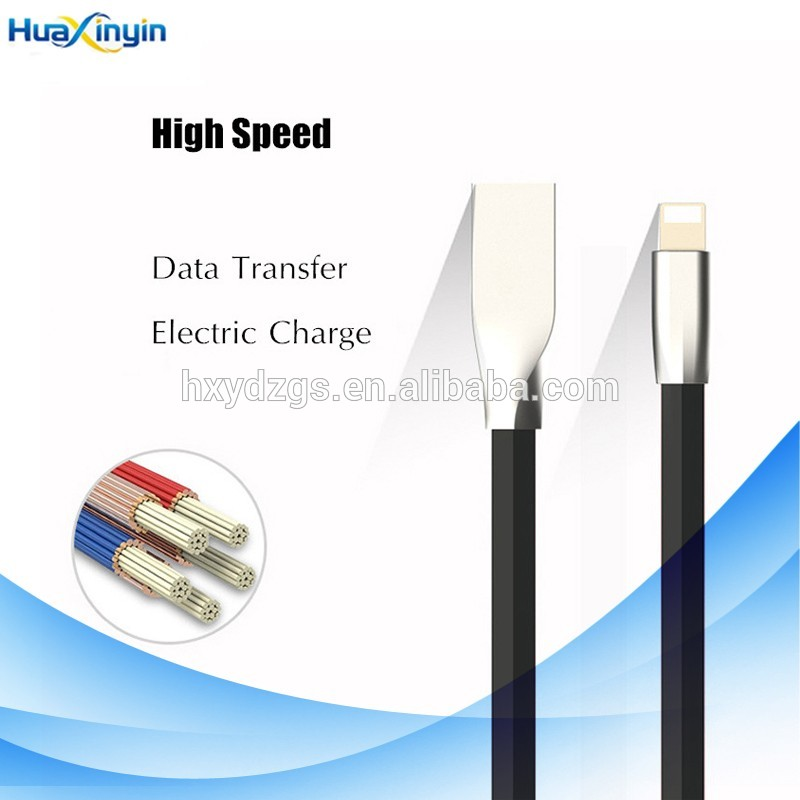 Nice quality Alloy aluminum for iphone charging usb cable