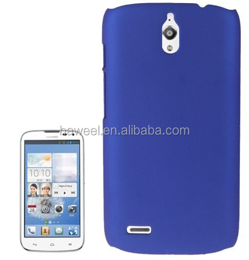 Anti-scratch Plastic Protective Case for Huawei Ascend G610(Dark Blue)