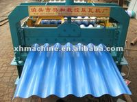 Trade Assurance Press Foming Cutting Corrugated Roll Forming Machine With Galvanized Board for Fencing
