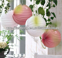 2012 best eco-friendly watermelon paper lantern of China