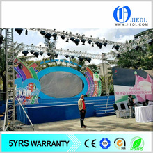 outdoor LED Screen and lighting aluminum Truss