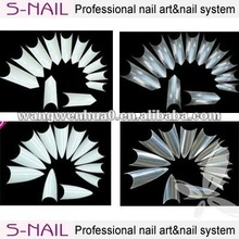 fashion professional french nail tip/nail art designs wholesale
