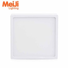 16W SMD High Quality square led panel light led <strong>flat</strong> ceiling light led surface panel light
