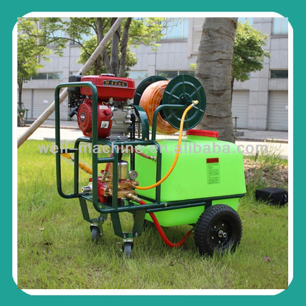 New mobile agricultural insecticide spray pump