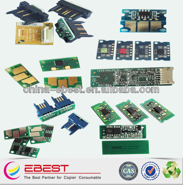 suitable for ricoh aficio MPC2500/3000 compatible toner chips