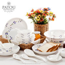 Lead&Cadmium free german porcelain dinner sets dinnerware