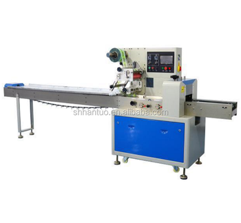 High Speed Biscuit Bread protein bar Flow Packing machine