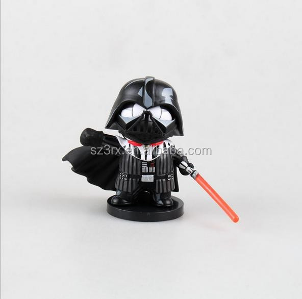 custom made small moulding PVC action figure/OEM wholesaler stands action figurine/custom movie character action figure