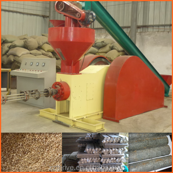 Professional biomass briquette machine/charcoal briquette making machine