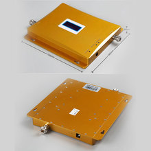 FULL SET Dual band 4G signal booster GSM 900 4G LTE 1800 SIGNAL repeater amplifier LCD Display