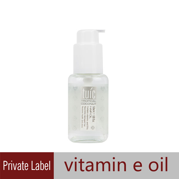Private Label Vitamin E Oil for Hair Care