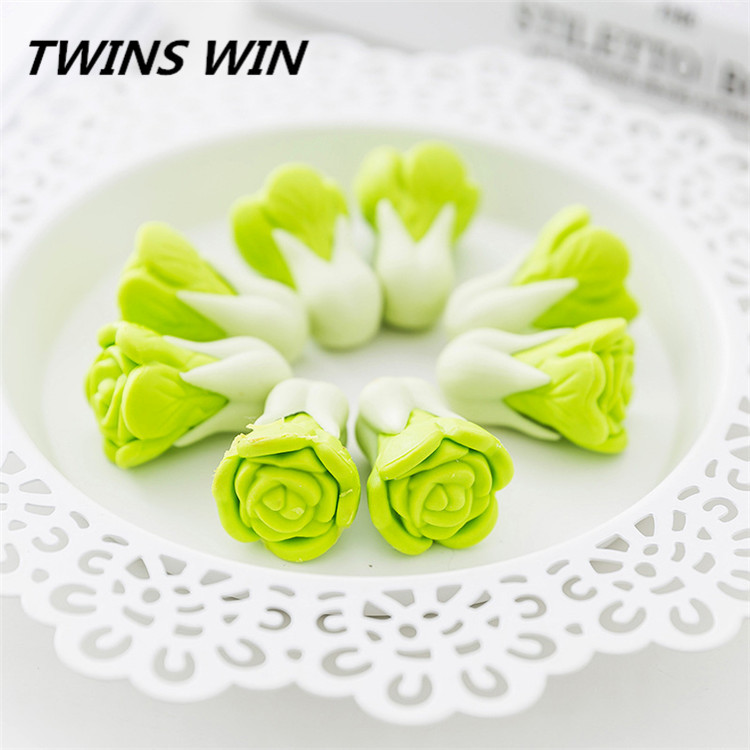 New fashion kids stationery set gifts cabbage design erasers cute shape good quantity novelty erasers for students