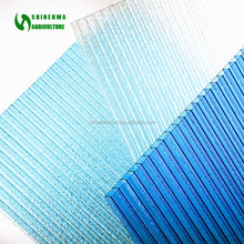 2017 Commercial Unbreakable Polycarbonate 6MM Twinwall Hollow Sheet