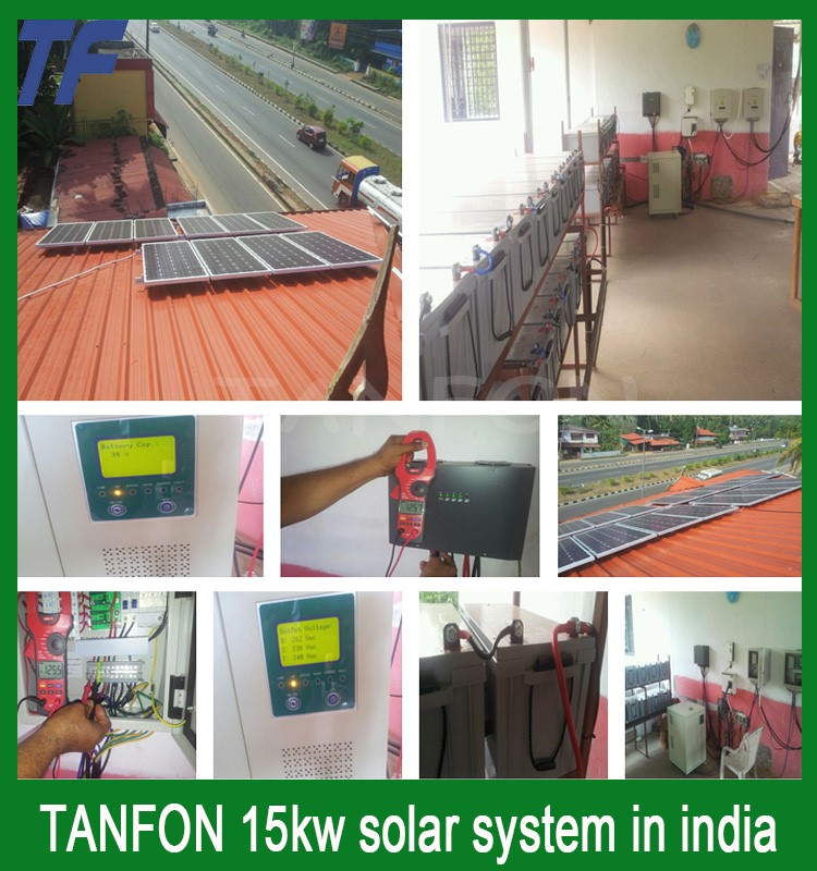 hot sale home solar panel system 5kw 5000w solar panel system <strong>kit</strong> for Dubai