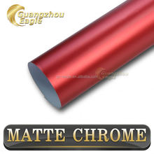 Removable Matt Vinyl Chrome Metallic Colors For Cars