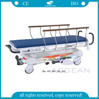 AG-HS001 4 Function X-RAY hydraulic stretcher bed