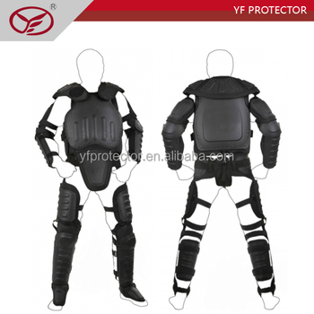 NATO NIJ and ISO standard Anti riot suit/riot control suit with flame retardant