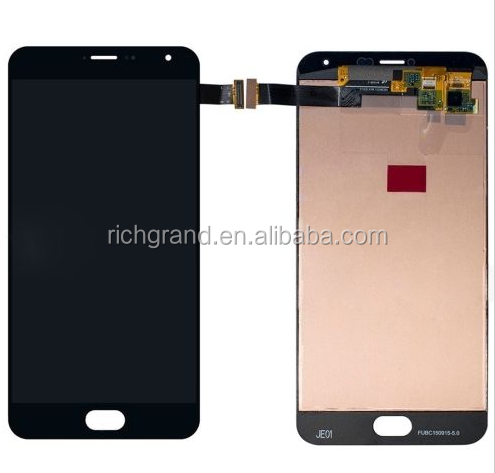 LCD Display touch Screen Digitizer assembly For Meizu MX5 Pro Meizu Pro 5 Black Color