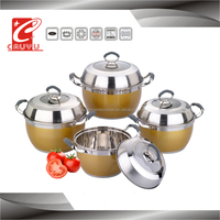 8 pcs stainless steel Induction Professional cooking pot set