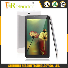 Dual Sim slot 7 inch Andriod phone tablet 3G Bluetooth WIFI