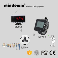 Mindewin Waiter Calling System Pager System for Restaurant