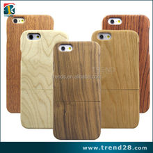 2017 best price blank bamboo wood phone case for iphone 6
