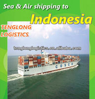shipping container freight cost to Jakarta and Surabaya of Indonesia from Shenzhen Shanghai Ningbo