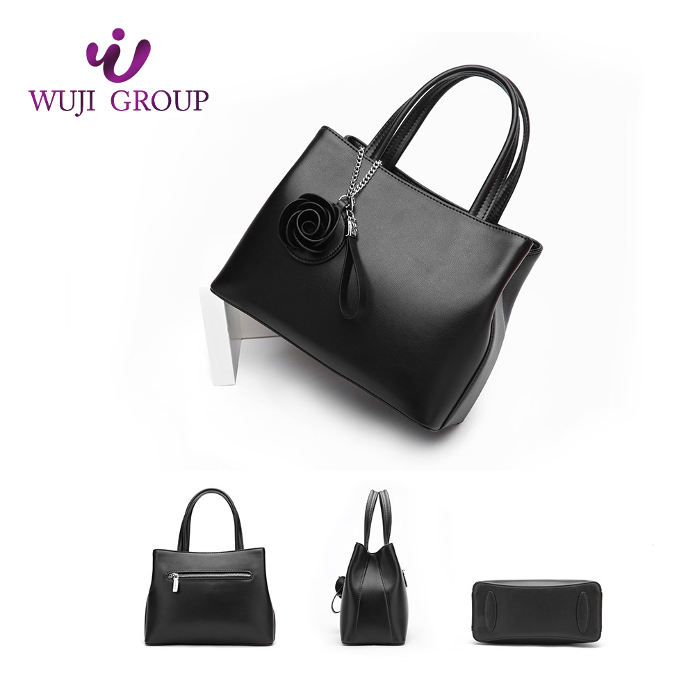 Durable in use new designed leather women's handbags online shopping