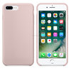 Silicone Back Cover Case for iphone 7 plus Soft Silicone Mobile Phone Skin for iphone 7 Plus with Original Logo