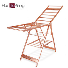 HJF GW-5822 Eco-friendly Aluminium Foldable clothes drying rack/standing clothes rack/laundry dryer, Factory Price