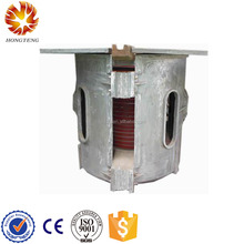 Industrial electric heavy melting steel scrap induction casting machine/furnace