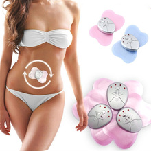 Mini Butterfly Design Body Muscle Massager Electronic Slimming Massager 4 LED Lights Display