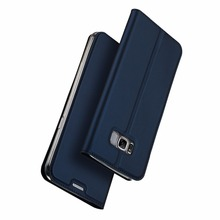 DUX DUCIS Cheap Western Leather Card Holder Cell Mobile Phone Cases for Samsung Galaxy S8 Plus G955