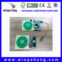 Custom All Kinds Sound Chip For Plush Toy And Doll And Greeting Card