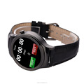 Smart watch OEM leather strap watch phone smartwatch with camera