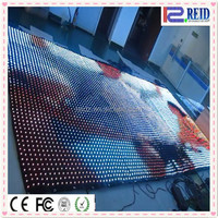 China xxx images led curtain display / flexible led video curtain for stage backdrop