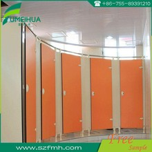 12mm toilet cubicle door for swimming changing room
