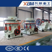 High Crushing Ratio HP Hydraulic Cone Crusher