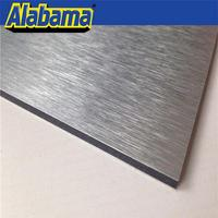 copper color acp panel aluminum cladding sheets, impact resistant aluminium composite detail