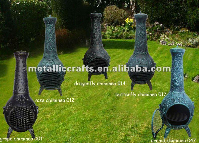 Outdoor Cast Aluminum Chimeneas Outdoor Fireplace Cast Iron Stove