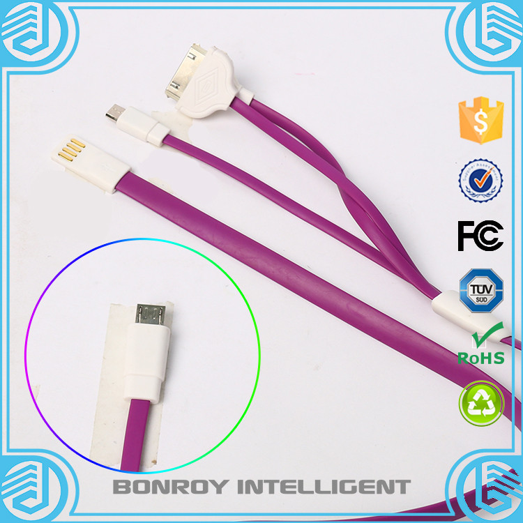 2016 China make latest product high quality attractive design usb to bare end cable