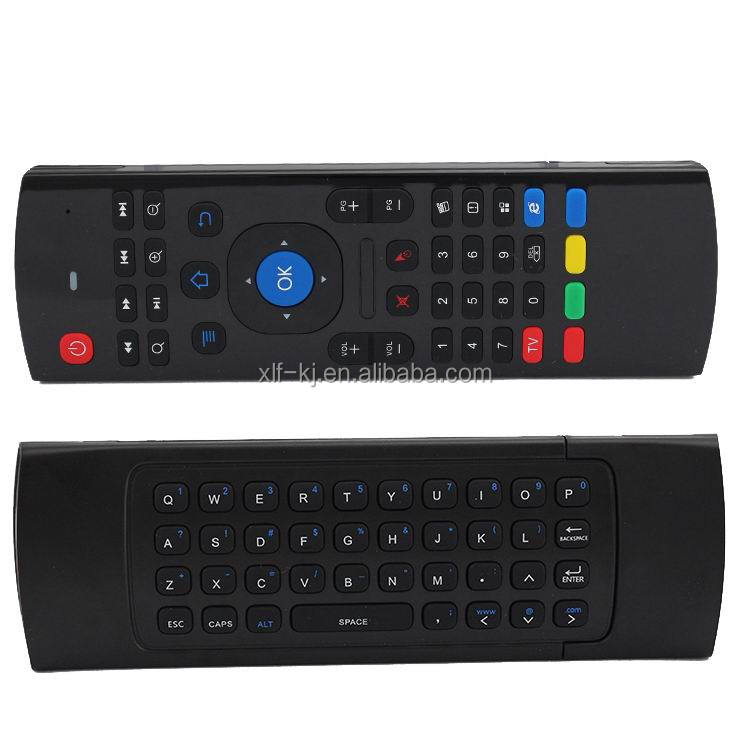 2013 2.4G Wireless Remote Control For Andorid TV Box/Set Top Box/Music Player