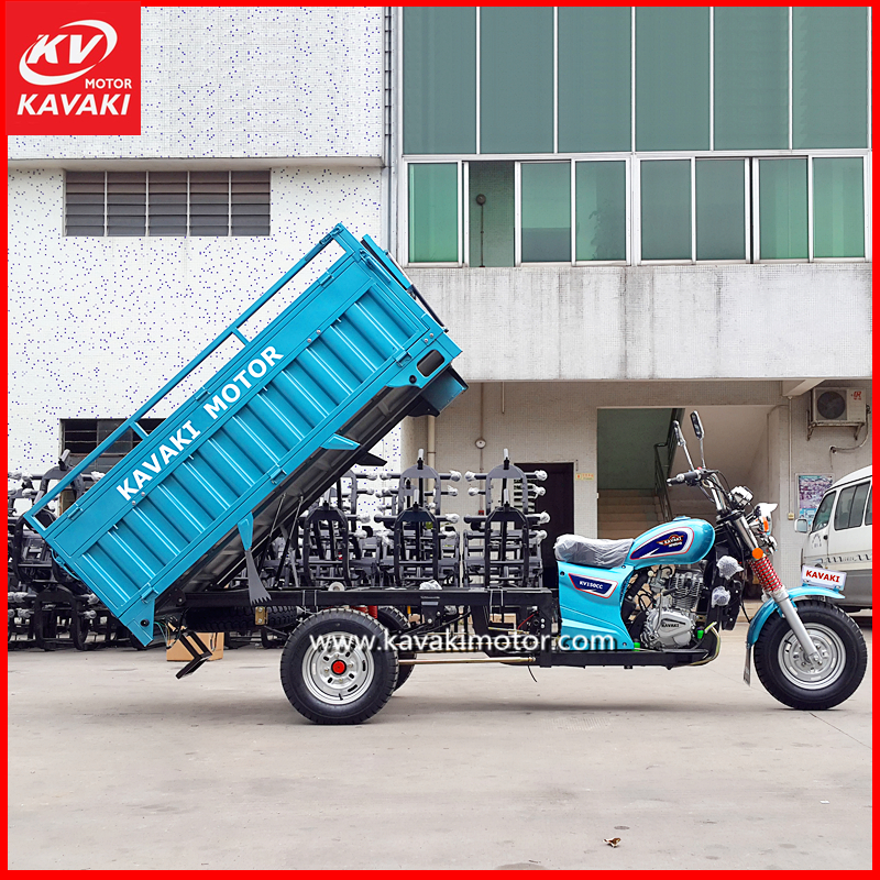 2016 Best Selling Tricycle 200CC Water Cooled Passenger Three Wheel Motorcycle