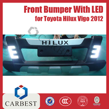 High Quality ABS Front Bumper with LED for Toyota Hilux Vigo 2012
