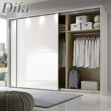 Custom Made Modern Design Bedroom Wardrobe Sliding Door Closet