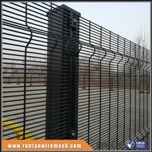 pvc coated 358 high security no climb clear vu fencing