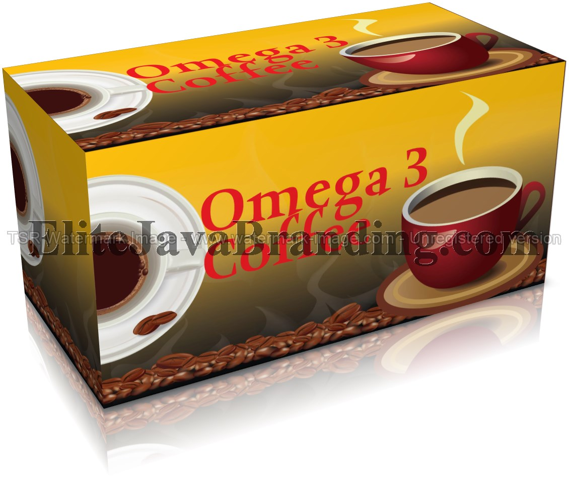 Omega 3 Slimming Dietary Healthy Coffee