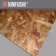 China cheap chipboard 6MM OSB construction usage board price