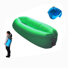 Newest Product Mini Sleeping Bags Smaller Lounge Seat, 2017 New Camping Equipment Inflatable Pop Bag